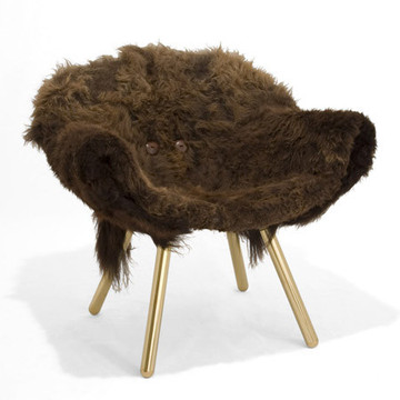oops the wooly chair