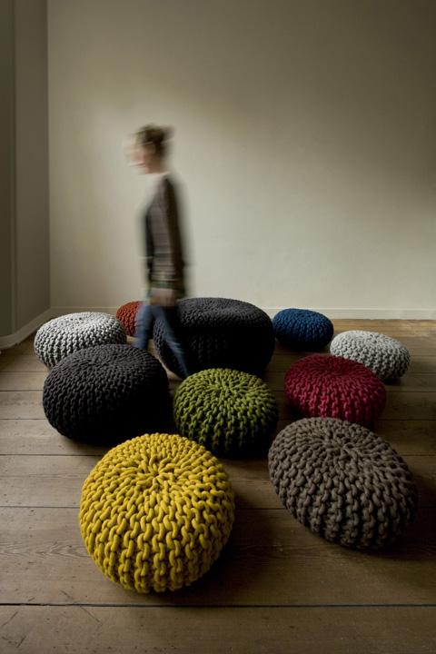 urchin pouf colors