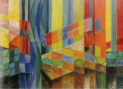 heide roy-de-maistre-colour-composition-derived-from-three-bars-of-music-in-the-key-of-green-1935