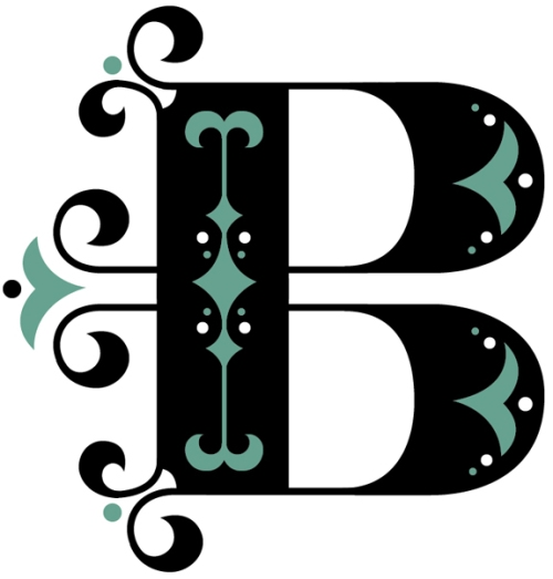 font B-teal